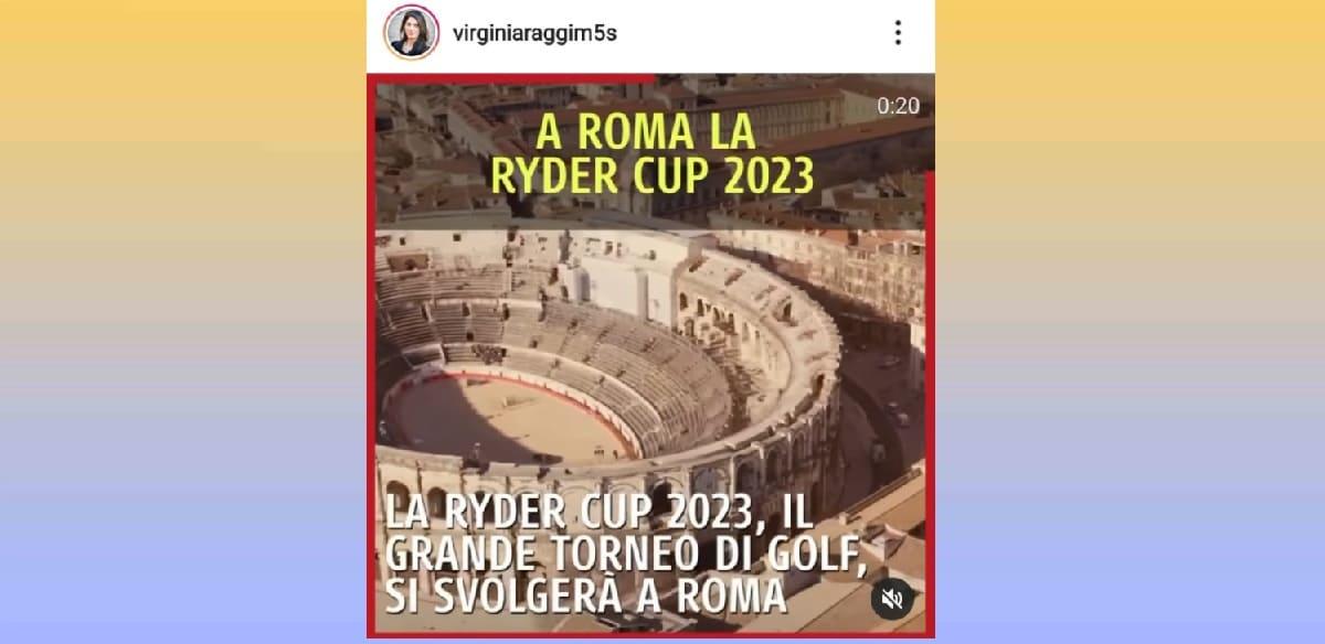 L'area di Nimes al posto del Colosseo, l'errore di Virginia Raggi