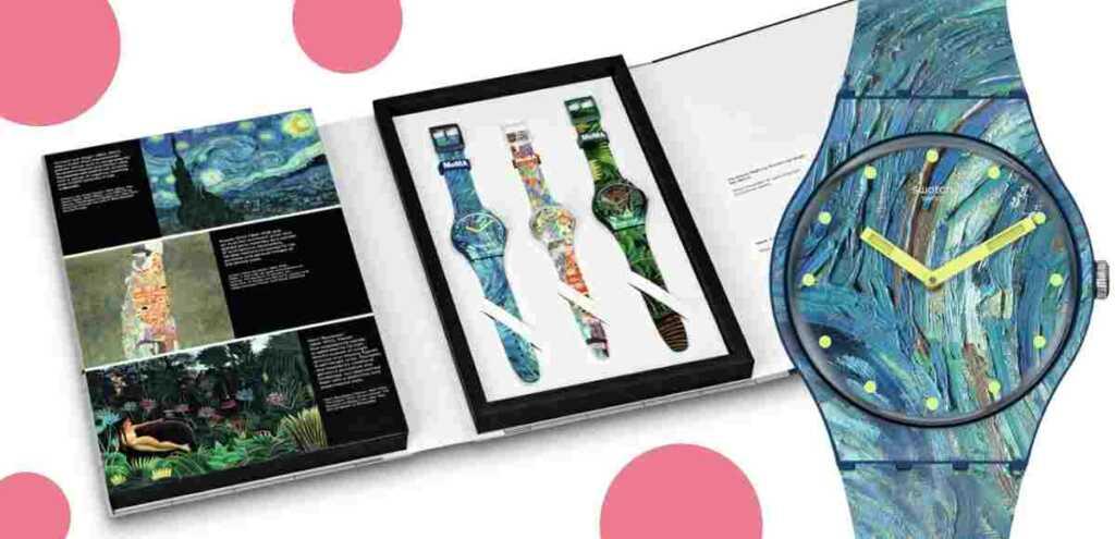 Orologi e opere d'arte: SWATCH E MoMA in edizione speciale
