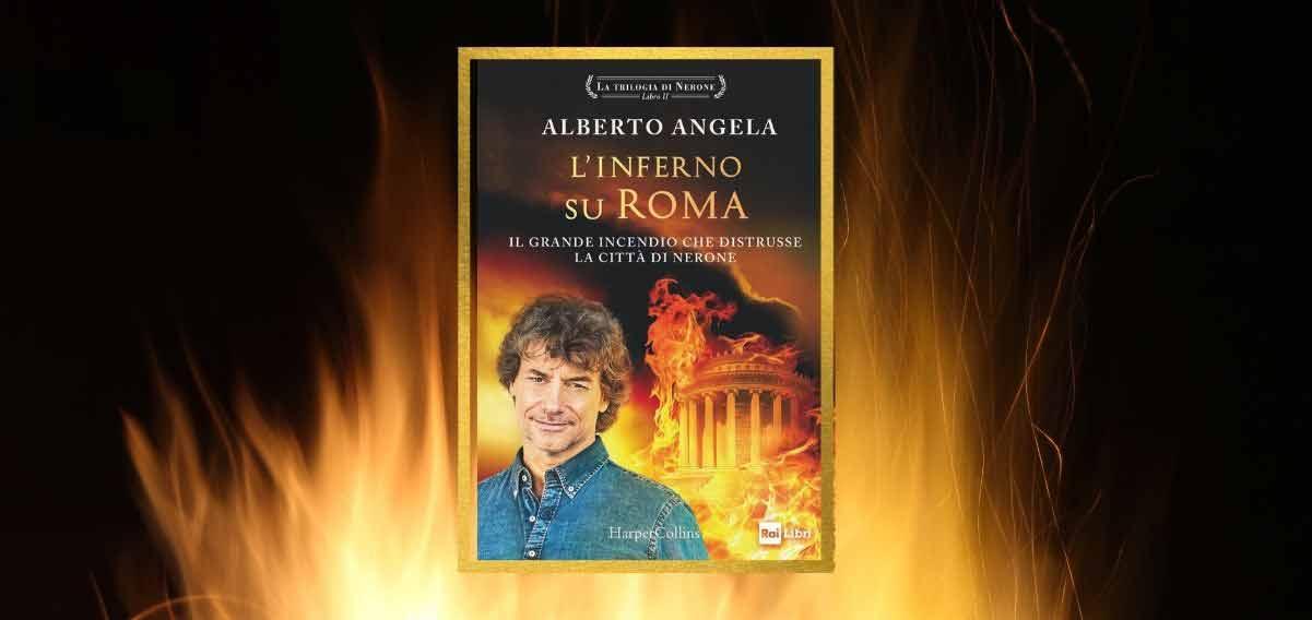 """Alberto Angela, """"Nerone colpevole dell'incendio di Roma? Una fake news"""""""