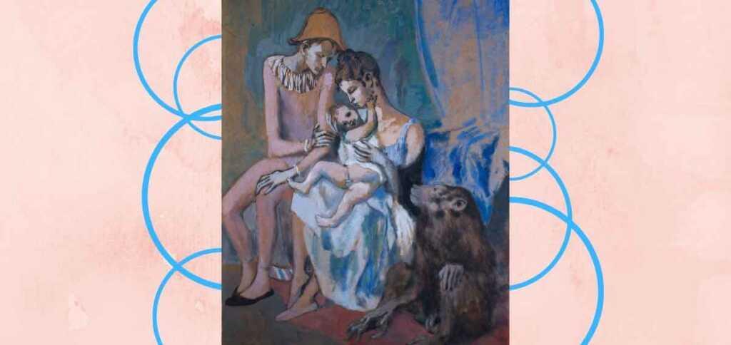 """""""La famiglia di acrobati"""", il quadro di Picasso che celebra il nucleo familiare"""