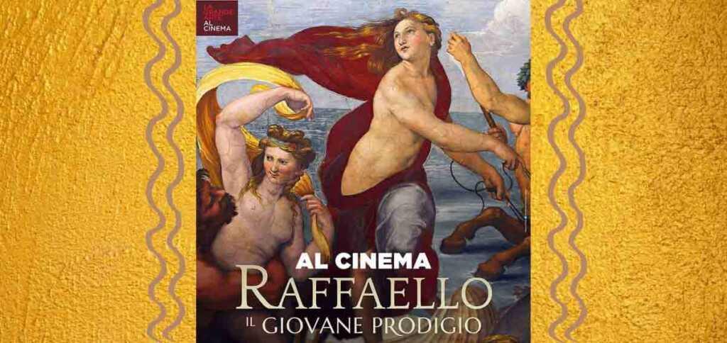 """""""Raffaello. Il giovane prodigio"""", ritorna la grande arte al cinema"""