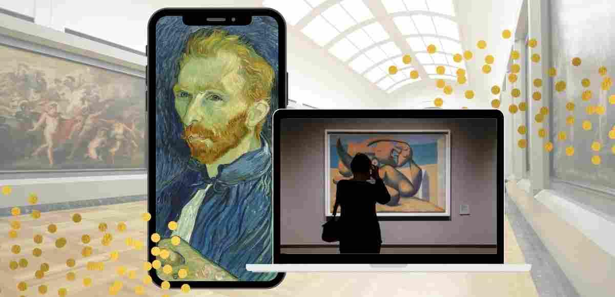 Si possono fotografare le opere d'arte ai musei?