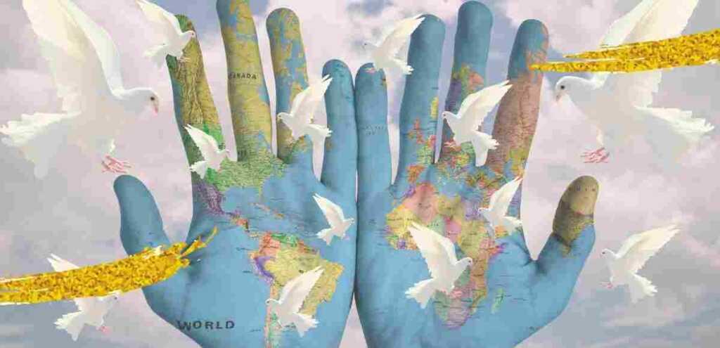 """""""I bambini giocano alla guerra"""", la poesia sulla pace"""