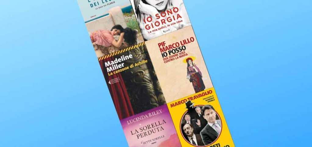 """""""I Leoni"""" di Stefania Auci in testa nella classifica dei 10 libri più venduti"""