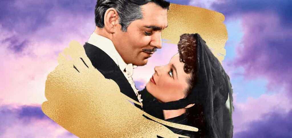 """Rossella O'Hara e Rhett Butler, l'amore impossibile di """"Via col Vento"""""""