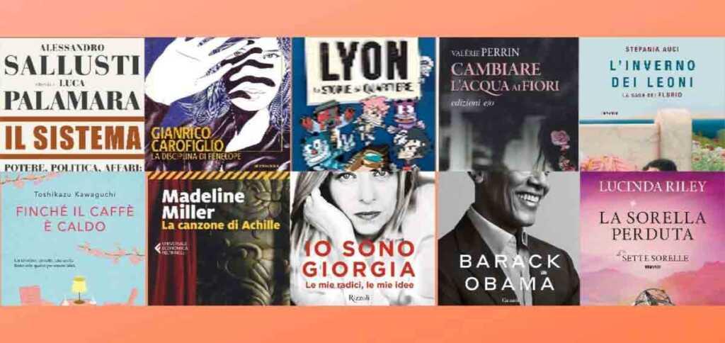 I 10 libri più venduti nei primi sei mesi del 2021