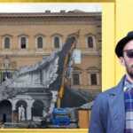 JR torna in Italia, un nuovo squarcio a Palazzo Farnese