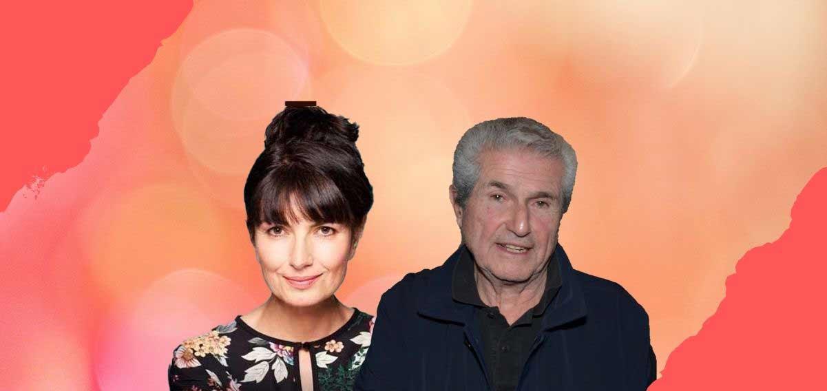 Valérie Perrin e Claude Lelouch, un amore nato grazie al cinema