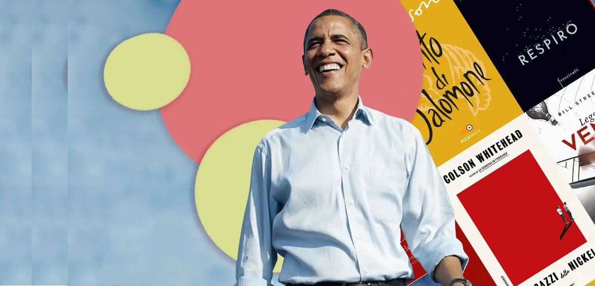 Estate 2021, i 10 libri da leggere secondo Barack Obama