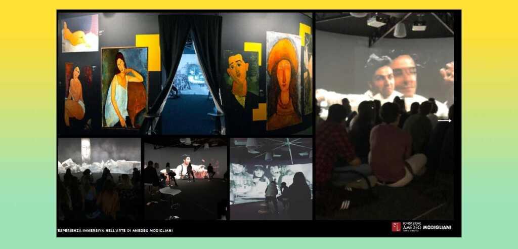 Modigliani Opera Vision, la mostra immersiva arriva a Venezia
