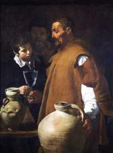 El aguador de Sevilla por Diego Velazquez