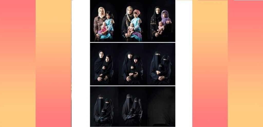 """""""La scomparsa della donna"""", la foto simbolo delle discriminazioni femminili in Medio Oriente"""