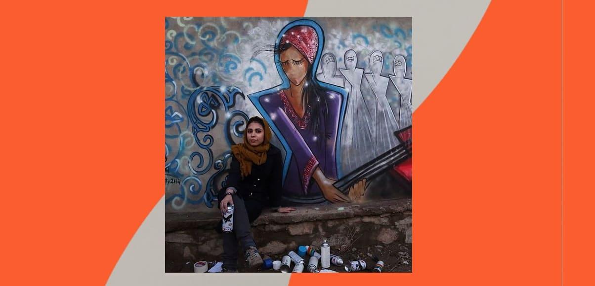 Shamsia Hassani, la prima artista di graffiti donna dell'Afghanistan