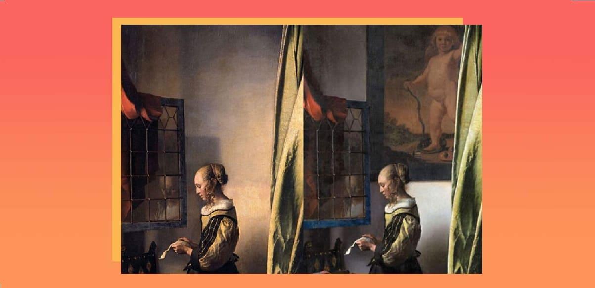Vermeer, dal restauro di un suo quadro riemerge un cupido