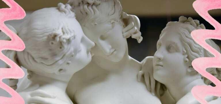 Le Tre Grazie di Canova, la bellezza e l'armonia scolpite nella pietra