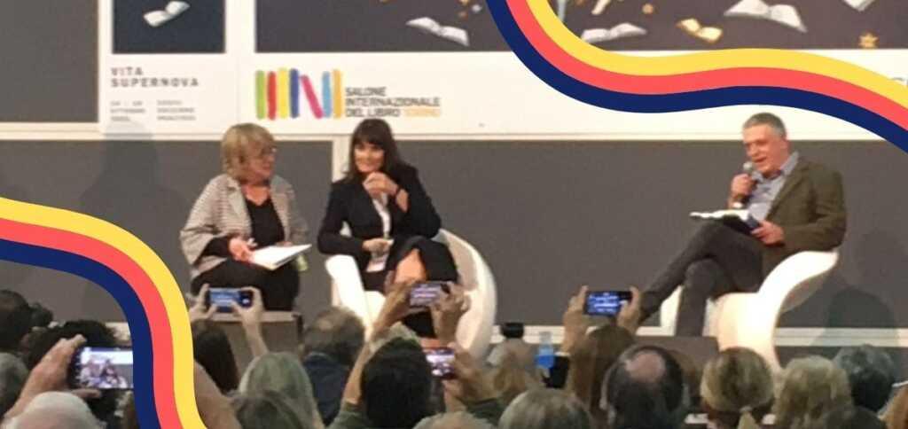 """Valérie Perrin al Salone del libro, """"L'amicizia è un sentimento molto vicino all'amore"""""""