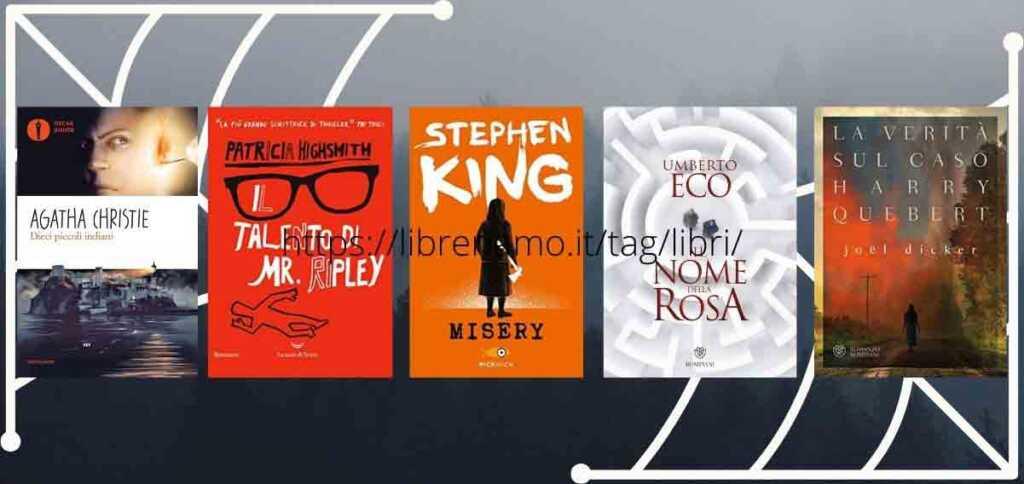 Halloween, i 5 libri thriller più amati dai lettori