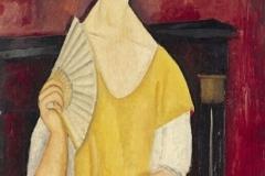 Ritratto di Lunia Czechowskacon il ventaglio