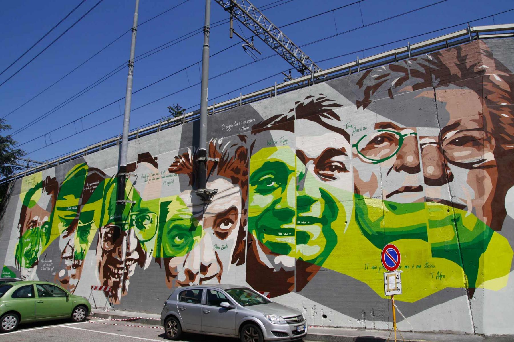 Murale della legalità