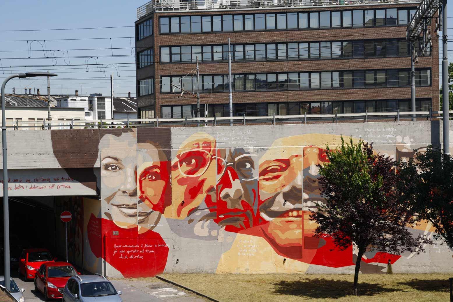 Murale degli artisti
